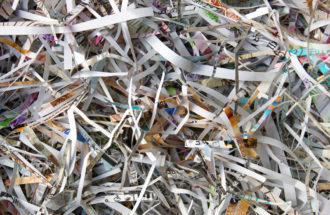 client shredding event